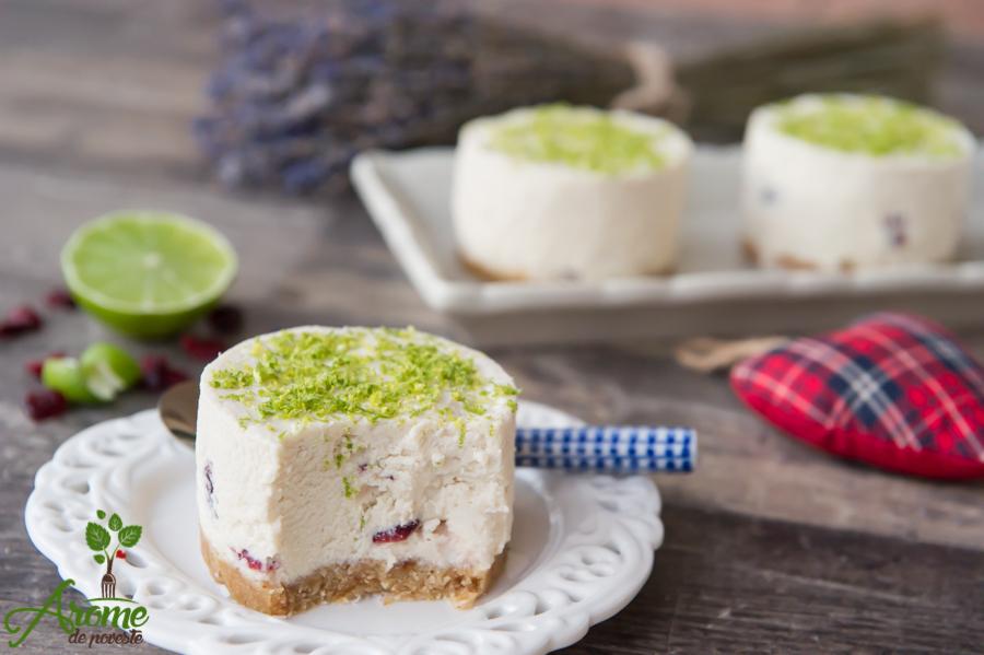 Cheesecake raw cu lime si merisor (6)