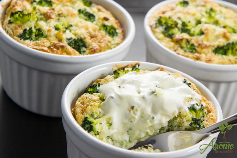 Sufleu de broccoli si conopida