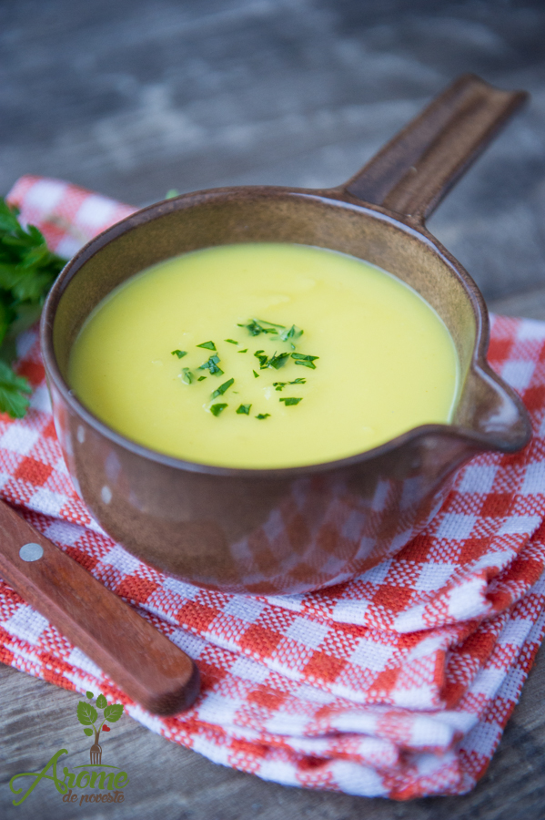 crema de pastarnac cu ghimbir