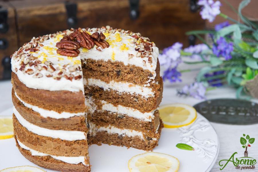 tort fara gluten, tort cu morcovi