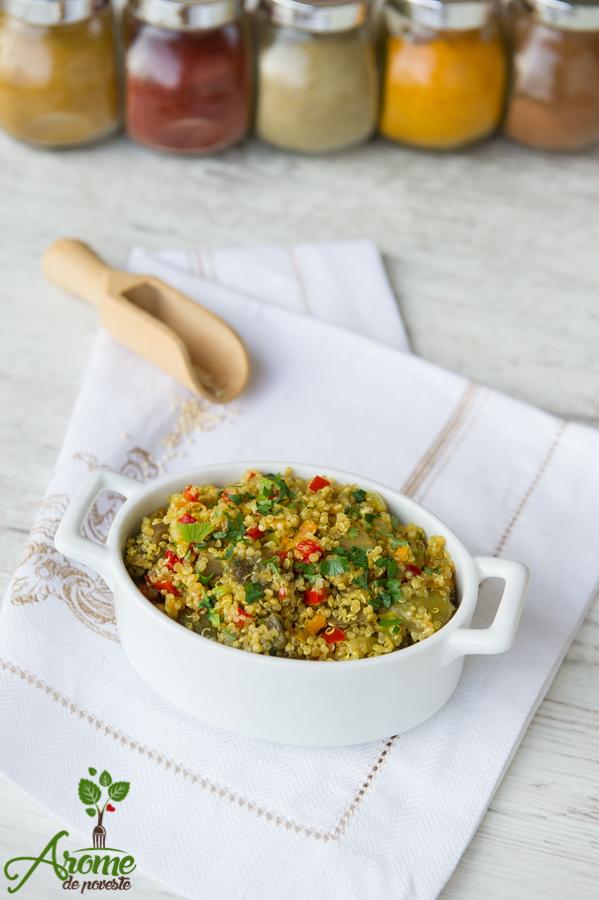 quinoa, vegan, de post