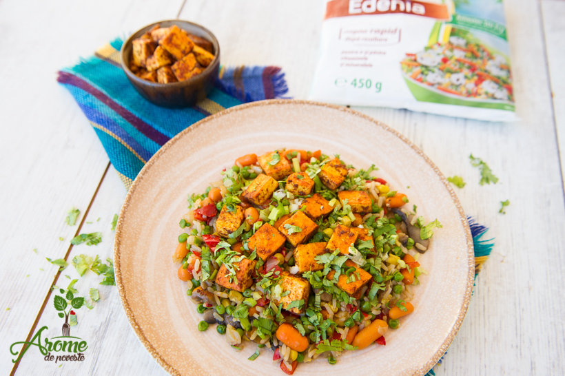 orez-cu-legume-ghimbir-coriandru-si-tofu