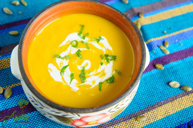 supa-crema-de-dovleac-cu ghimbir