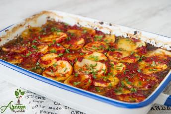 Musaca cu ciuperci si cartofi (1)