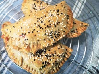 tarta-rustica-cu-spanac-si-rosii-dehidratate