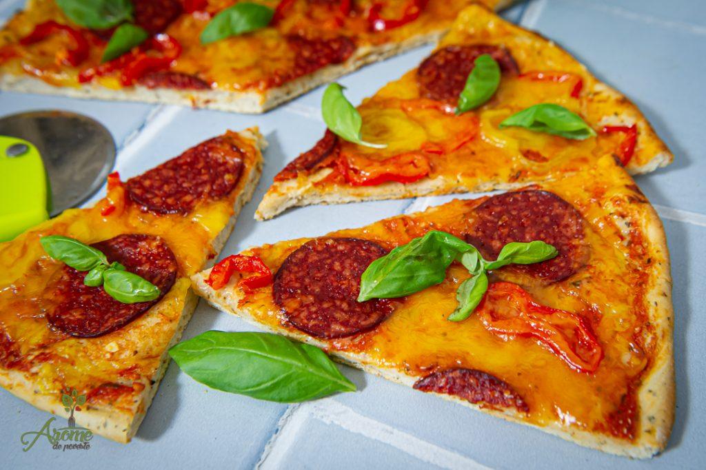 pizza pepperoni de post Verdino